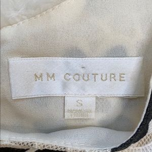 MM Couture Tops - MM Couture Back Button Up Lace Floral Top